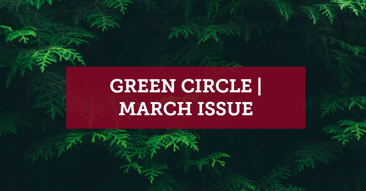 Green Circle - March Issue