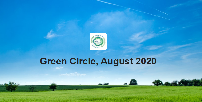 Green Circle, August 2020.