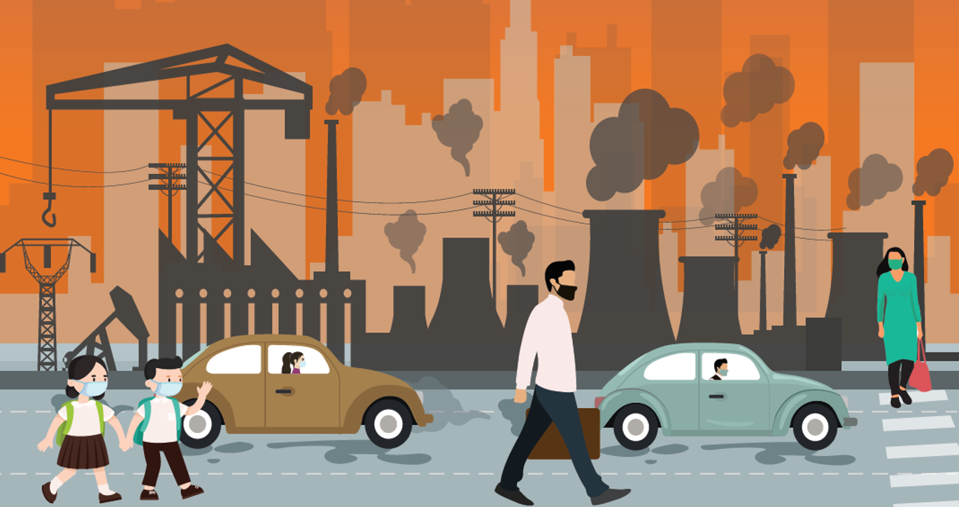 Understanding Air pollution and its impacts on human health